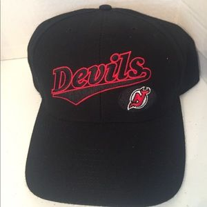 NHL New Jersey devils adjustable cap